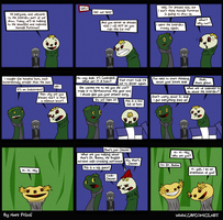 Sifl and Olly comic by kingofsnake