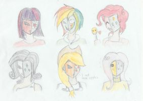 My Little Masquerades by lordvader914