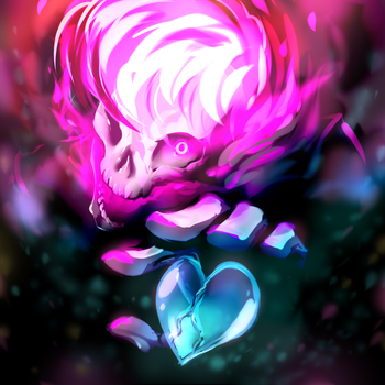 Mystery Skulls Ghost - POOF! by Mindless-Corporation