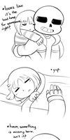 Bed time [Comic] by BlueStarryGirl