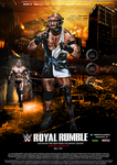 WWE Custom Royal Rumble Poster: Ryback Vs Goldberg by SoulRiderGFX