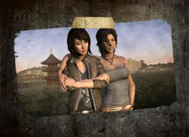 Memories of Lara: Lara and Sam touring in Japan by doppeL-zgz
