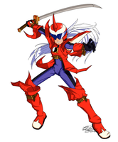 Muramasa Protoman by linkfreak131
