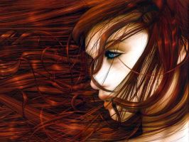Red Head by PryoBlasto
