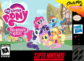 My Little Pony: Friendship is Magic SNES Box Art by SegaGenesis4100