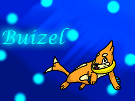 Buizel Background by Dogtorwho