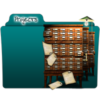 Projects Folder Icon by gterritory