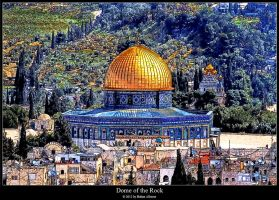 Dome of the Rock by BahaaAlbzoor