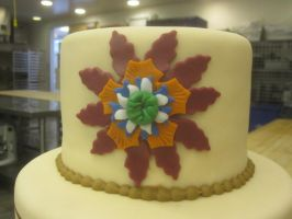 Marzipan Tongan Flower by recycledrapunzel