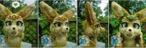 Xolani Fennec Fox Partial Fursuit by TwerkOnThatShark