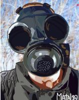 Sid Wilson Artwork-old mask by Matal80