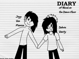 Diary of Blood on the Dance Floor by BOTDF-Sonic-Pm2fan
