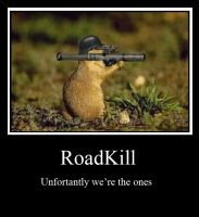 Road Kill by T-Squared12