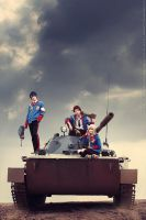 Valkyria Chronicles II cosplay. 1 by aKami777