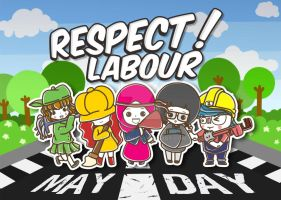 Respect Labour by mogigraph