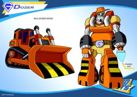 Gobots Animated Dozer by PWThomas