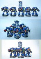 Ultramarines Terminator by Arastoru