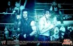 Roman Reigns and Dean Ambrose by DeanMoxley