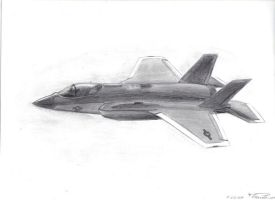 F-35 Lightning II by Albeiho