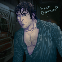 L4D2 - Nick's sex hair by MidoriEyes
