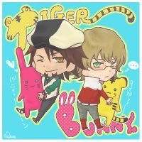 TB - Chibi Tiger and Bunny by rukaxxx