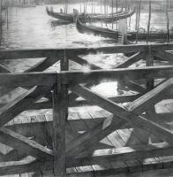 Dock at the Grand Canal by DChernov