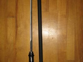 Wolf Head Cane Sword by teh50calFerretz