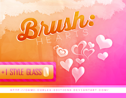 +PACK: Brush + Style Glass (LINK PUESTO) by CAMI-CURLES-EDITIONS