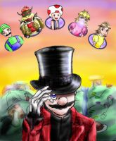 Mario and the Mushroom Factory by super-mario