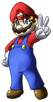 Super Mario 128 Collab entry by Teh-Ray