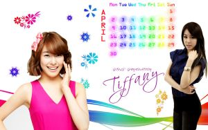 tiffany calender by SNSDartwork