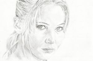 Jennifer Lawrence by michaelmdw