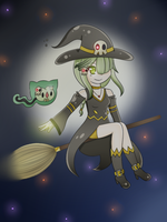 Dusknoir Witch by Tsubey