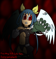 Dizzy the innocent half monster by SailorRaybloomDZ
