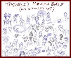 Artoveli's Margin People - I by Artoveli