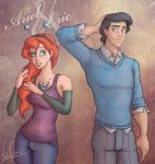 Ariel and Eric by Morloth88