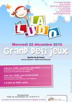 Affiche ludotheque Limeil-Brevannes by Arkhanje