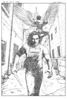 The List TPB Cover Pencils by FlowComa