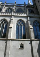 Denver Cathedral Windows 67 by Falln-Stock