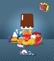 Bubble Bobble Pig Out by Trebeck