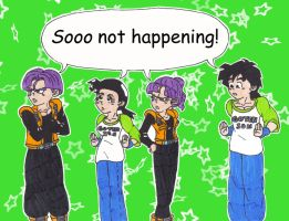 Me and Me: Trunks and Goten by starrdust411