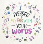 I pierced my ear with your words. by primiita