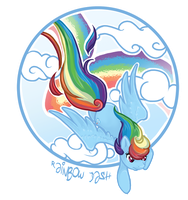 Rainbow Dash by Sugarstarstudio