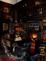 Dumbledore's Office by Filmchild