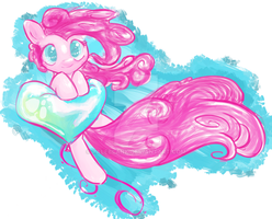 Pinkie Pie knows how to fly by PaleBlank
