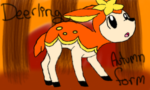 Autumn The Deerling by The-Insane-Puppeteer