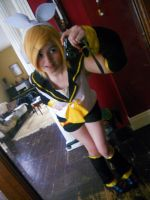 Vocaloid :: Rin Kagmine 2 by dawnleapord