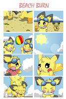 Beach Burn by pichu90