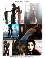 Zack And Aerith by Jesus1st-Anime2nd