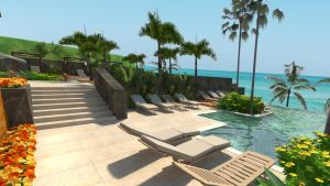 Beach Club Render 3 by Xanatos4